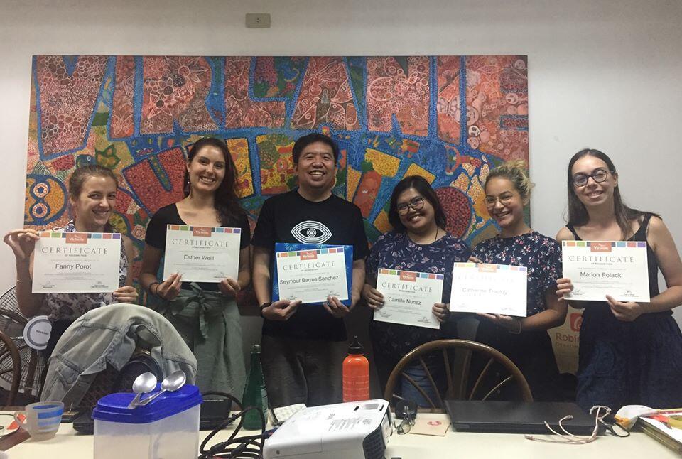 Virlanie organises workshop on scriptwriting and storyboarding