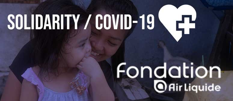Air Liquide Foundation gives crucial support to Virlanie Solidarity Against COVID-19 campaign